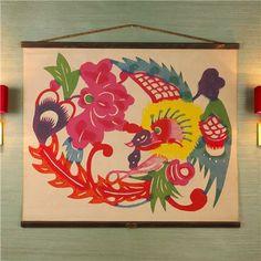 Mandarin Canvas Wall Print - Shades of Light