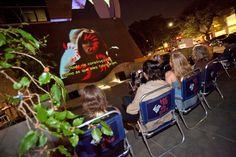 Remix, cinema open air e pipoca na Praia de Paulista