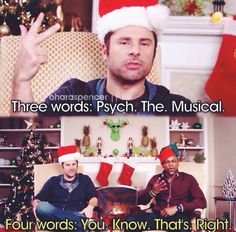 Psych is my life summed up in a tv show.bad decisions and great humor Psych Memes, Psych Quotes, Psych Tv, Shawn And Gus, Shawn Spencer, Real Detective, James Roday, I Know You Know, Favorite Tv Shows
