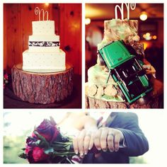 Jeep wedding cake!! Best idea!