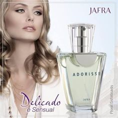 Adorisse Eau De Parfum Jafra, 50ml À Pronta Entrega!