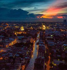 Cidade de vida, Bangkok   Tailândia (por puniest Rojanapo )