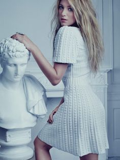 Blake Lively in Chanel For Bullett Magazine via @Fashion_Critic_