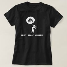 Shop Veterinarian T-Shirt created by StickDude. Wardrobe Staples, Fitness Models, T Shirts For Women, Female, Casual, Sleeves, Mens Tops, How To Wear, Fashion