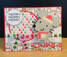 Cricut Create-A-Critter 2 Christmas Card