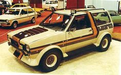 """Ford Fiesta """"Tuareg"""" concept Ford Rs, Car Ford, Ford Motor Company, Ford Fiesta Mk1, Ford Motorsport, Toyota Tercel, Super Images, Ford Classic Cars, Unique Cars"""