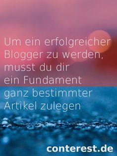 Zusammengestellt: Artikel über das Bloggen für Einsteiger und Beginner — Conterest