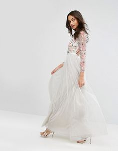 Needle & Thread | Needle & Thread Ditsy Scatter Tulle Gown