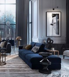 New Living Room Grey Curtains Colour Ideas Living Room Grey, Living Room Sofa, Interior Design Living Room, Living Room Designs, Living Room Decor, Design Bedroom, Grey Living Room Curtains, Morden Living Room, Dark Grey Curtains