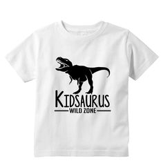 Kidsaurus Personalized Kids Shirt by bodysuitsbynany on Etsy