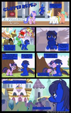 A Princess' Tears - Part 1 by MLP-Silver-Quill on deviantART