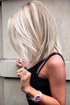 Straight Bob Haircut – Balayage Lob Hairstyles for Thick Hair…  Straight Bob Haircut – Balayage Lob Hairstyles for Thick Hair  http://www.tophaircuts.us/2017/06/21/straight-bob-haircut-balayage-lob-hairstyles-for-thick-hair/