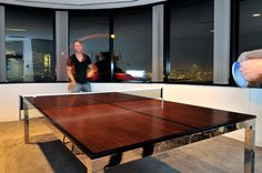 Modern Design: Office Table Tennis (8 photos) - My Modern Metropolis