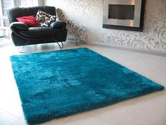 indochine rug - peacock | area-rugs | panels-and-rugs | z gallerie