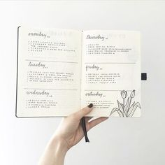 You're, like, really pretty. | 24 Minimalist Bullet Journal Layouts To Soothe Your Weary Soul