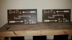 Bind my Heart Wall Sign by NailedItMT on Etsy
