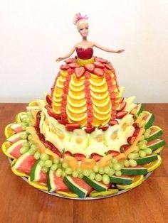 decoracion de frutas para fiestas de 15 años