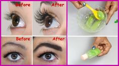 In just 3 days you will have long eyelashes and fuller eyebrows .- Sadece 3 gün içinde uzun kirpik ve dolgun kaşlara sahip olacaksınız. In just 3 days you will have long eyelashes and full eyebrows. Eyebrow Hair Loss, Eyebrow Serum, Eyelash Serum, Eyelash Growth, Eyebrow Brush, Eyebrow Growth, Eyelash Curler, Long Thick Eyelashes, How To Grow Eyelashes