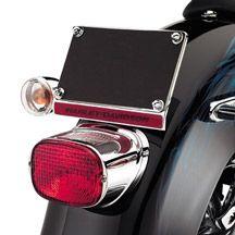 H-D Chrome Tail Lamp Collar