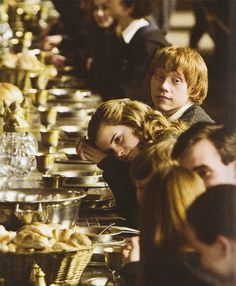 ol' ron and hermione :)