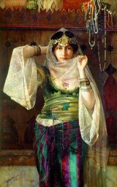 Ferdinand Max Bredt (German, 1868-1921) – Queen of the Harem ./tcc/