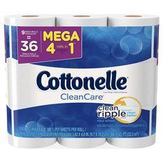 Cottonelle 9pk Clean Care Mega Roll