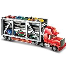 """Disney Pixar's Cars Lift & Launch Mack Transporter - Mattel - Toys """"R"""" Us All Toys, Toys R Us, Play Vehicles, Christmas Gifts For Kids, Christmas Ideas, Xmas, Disney Pixar Cars, Toys Online, Kids Store"""