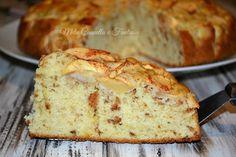 Torta mele e amaretti senza burro - Ricette Blogger Riunite