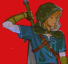 "哇 on Twitter: ""… "" The Legend Of Zelda, Legend Of Zelda Breath, Fanarts Anime, Anime Characters, Link Botw, Character Art, Character Design, Link Zelda, Twilight Princess"