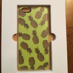 Casetify pineapple iPhone 6/6s case Brand new in box super cute casetify artist collection pineapple snap on iPhone 6/6s case. Casetify Accessories Phone Cases