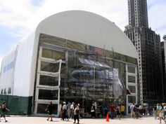 ArchitectureChicago Plus Blog Overrun - It's a Bean! Big Tent Gives Birth (Again) to Kapoor's Cloud Gate Sculpture