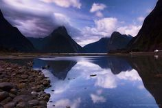 On the West Coast is Milford Sound, a majestic and untouched national park. Photo by stevoarnold, flickr