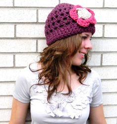 Crochet Hat Pattern for Women