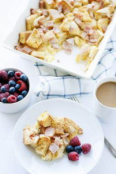 eggs benedict casserole (recipe redux) - Heather's French Press