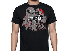 T-shirt Design for Gaming Sir, Yes Sir by Denis