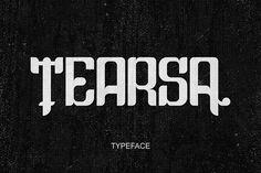 Tearsa font @creativework247