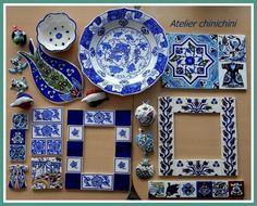 made in Turkey Turkish Plates, Turkish Tiles, Table Coasters, Poetry Art, Mirror Tiles, Pottery Making, Ginger Jars, Tile Art, Clay Crafts