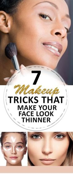7 awesome tips to make it look like you've lost that extra 5 pounds without any of the diet or exercise! 7 awesome tips to make it look like you've lost that extra 5 pounds without any of the diet or exercise! Best Makeup Tips, Best Makeup Products, Beauty Products, Makeup Ideas, Contour Makeup, Skin Makeup, All Things Beauty, Beauty Make Up, Beauty Secrets