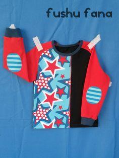 FushuFana: Camiseta de estrellas / Star-patterned T-Shirt (Reindeer Herder, Ottobre design)