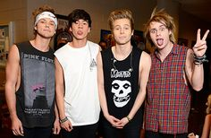 There's a new sensation coming out of Australia -- the boy group 5 Seconds of Summer. The group is made up of pals Luke Hemmings, Michael Clifford, Calum Hood, and Ashton Irwin, and Us Weekly compiled a list of the five things you should know about them before they become the next big thing!