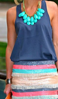 amazing color combo. love #socialblissStyle #navy #amazing
