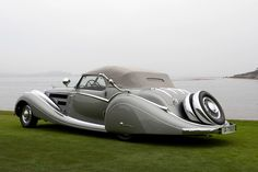 1937 Horche 853 Voll & Ruhrbeck Sport Cabriolet. Can you believe it?