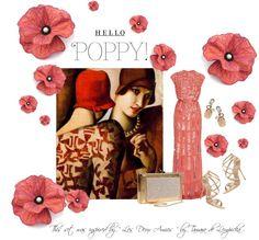 When Art and Fashion Collide - Hello Poppy !