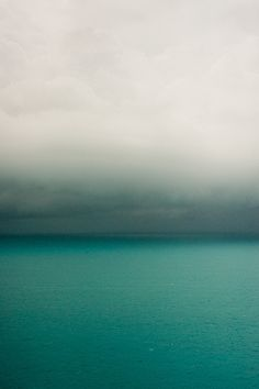 Grey and blue    Minimalist Gulf by janet little, via Flickr