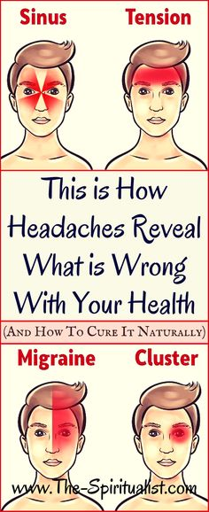 Migraine Remedies 4 Most Usual Types of Headaches (What They Indicate About Your Health and the Best NATURAL Treatment! Health Diet, Health And Nutrition, Health And Wellness, Health Fitness, Quest Nutrition, Nutrition Drinks, Nutrition Store, Child Nutrition, Nursing