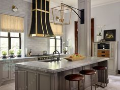 Statement Making Range Hoods - Design Chic -jewelry for the kitchen