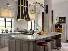 Statement Making Range Hoods - Design Chic -jewelry for the kitchen