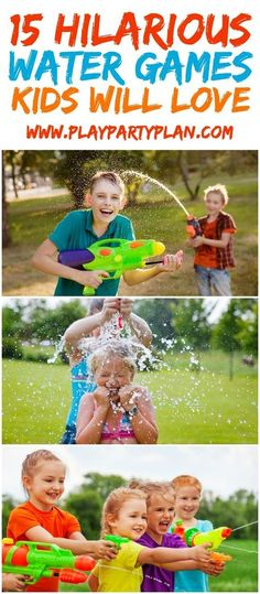 Fifteen of the best outdoor water games for kids that are fun enough they'd be perfect for teens or for adults too! Play them for birthday parties, when you're at camp this summer, or even during a backyard BBQ!