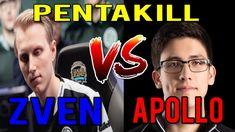 Pentakill !!! TSM Zven vs Fox Apollo Na Ranked Solo (Darshan, Smoothie) ...