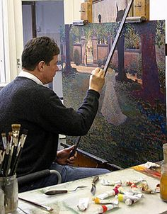 ton dubbeldan art | It is remarkable to see that the Dutch painter, Ton Dubbeldam, often ...